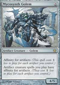 MTG Card: Mycosynth Golem