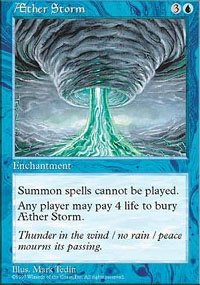 MTG Card: AEther Storm