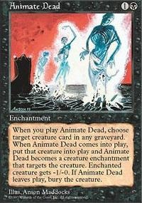 MTG Card: Animate Dead