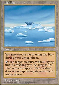MTG Card: Ice Floe