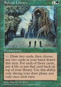 MTG Card: Sylvan Library
