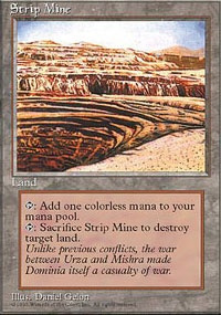 MTG Card: Strip Mine