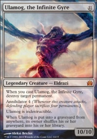 MTG Card: Ulamog, the Infinite Gyre