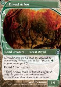MTG Card: Dryad Arbor
