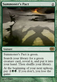 MTG Card: Summoner's Pact