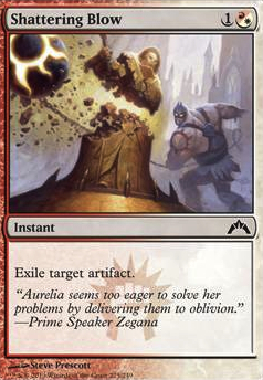 Shattering Blow (GTC MTG Card)