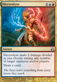 MTG Card: Electrolyze