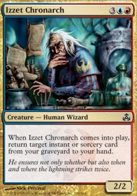 MTG Card: Izzet Chronarch