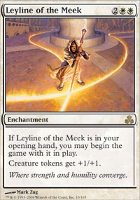 MTG Card: Leyline of the Meek
