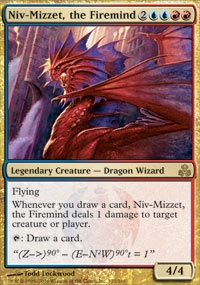 MTG Card: Niv-Mizzet, the Firemind