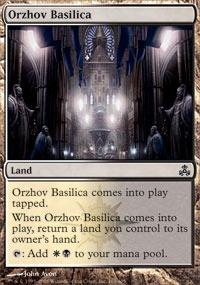 MTG Card: Orzhov Basilica