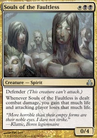 MTG Card: Souls of the Faultless