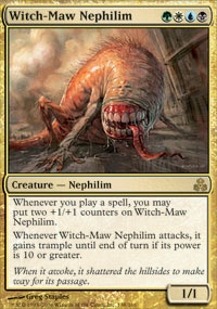 MTG Card: Witch-Maw Nephilim