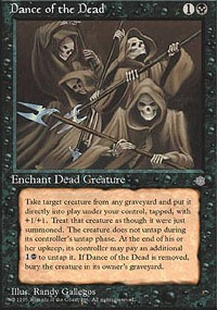 MTG Card: Dance of the Dead