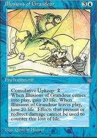 MTG Card: Illusions of Grandeur