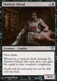 MTG Card: Abattoir Ghoul