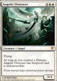 MTG Card: Angelic Overseer