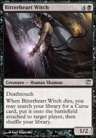 MTG Card: Bitterheart Witch