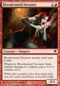 MTG Card: Bloodcrazed Neonate