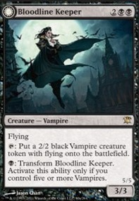 MTG Card: Bloodline Keeper