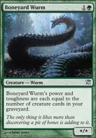 MTG Card: Boneyard Wurm
