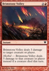MTG Card: Brimstone Volley
