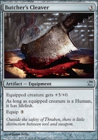 MTG Card: Butcher's Cleaver