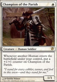 MTG Card: Champion of the Parish