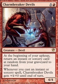 MTG Card: Charmbreaker Devils