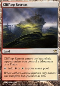MTG Card: Clifftop Retreat