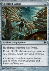 MTG Card: Cobbled Wings