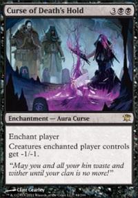 MTG Card: Curse of Death's Hold