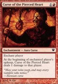 MTG Card: Curse of the Pierced Heart