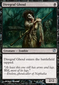 MTG Card: Diregraf Ghoul
