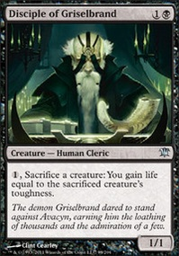 MTG Card: Disciple of Griselbrand