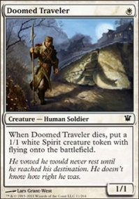 MTG Card: Doomed Traveler