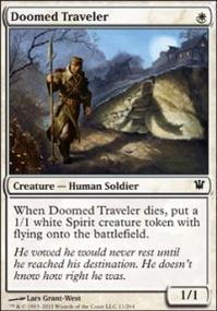 MTG Card: Doomed Traveler