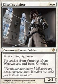 MTG Card: Elite Inquisitor