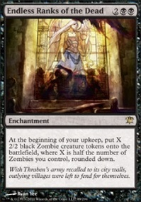 MTG Card: Endless Ranks of the Dead