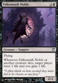 MTG Card: Falkenrath Noble