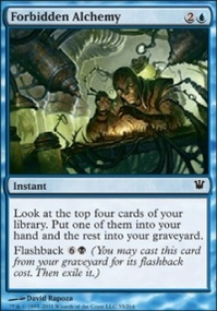 MTG Card: Forbidden Alchemy