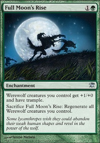 MTG Card: Full Moon's Rise