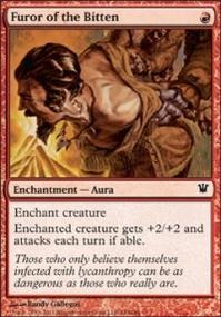 MTG Card: Furor of the Bitten