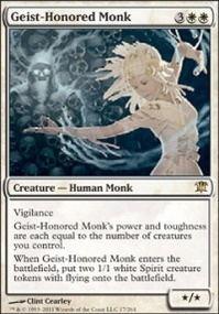 MTG Card: Geist-Honored Monk