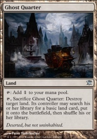 MTG Card: Ghost Quarter