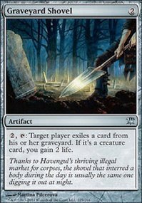 MTG Card: Graveyard Shovel