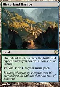 MTG Card: Hinterland Harbor