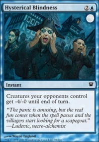 MTG Card: Hysterical Blindness