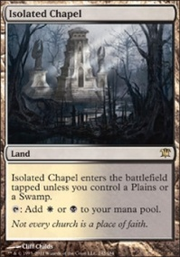 MTG Card: Isolated Chapel
