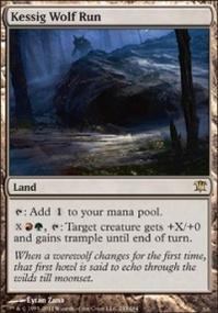 MTG Card: Kessig Wolf Run
